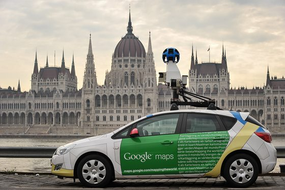 Węgry na google street view