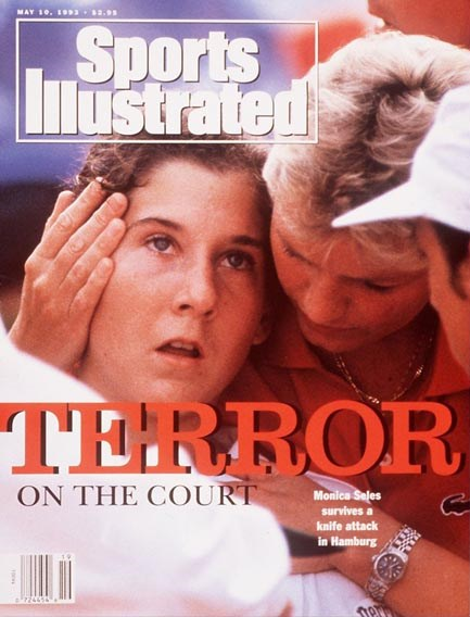 Monica Seles Top Ranked Woman's Tennis Player Survives Knife Attack in HamburgMay 10, 1993D 18446credit:  Claus Bergmann- freelance
