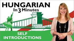 learn hungarian in 3 minutes