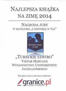 Tureckie lustro Najlepsza książka na zimę
