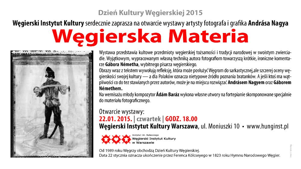 Węgierska materia wystawa