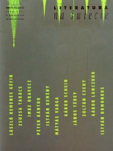 literatura na świecie 11-12 2012