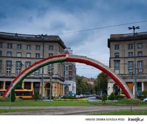 tecza plac zbawiciela polsko węgierska