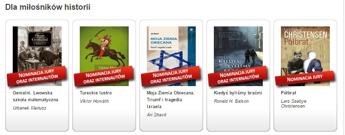 Tureckie lustro Najlepsza książka na zimę I etap Jury i internauci