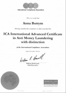 ICA_Advanced AML