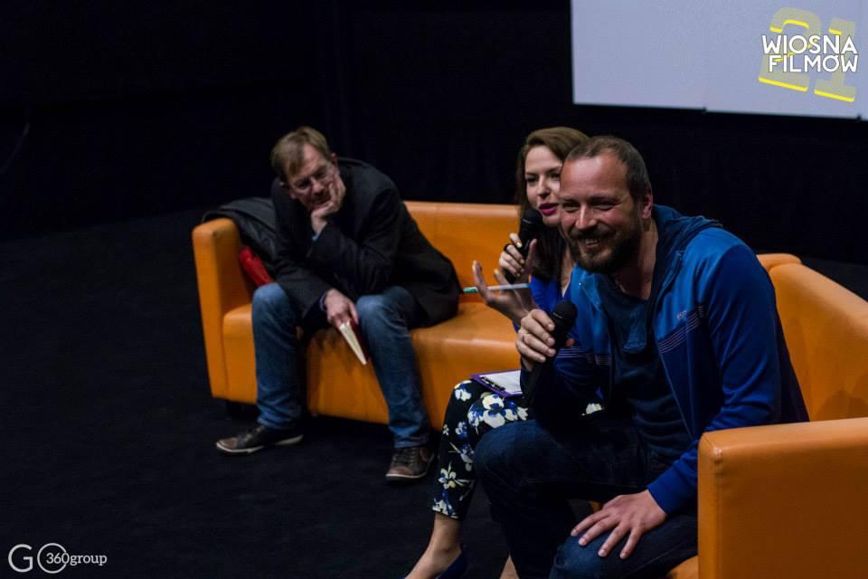 Wiosna Filmów 2015 György Pálfi Janusz Wróblewski Anna Butrym1