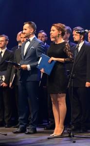 Anna Butrym Mariusz Walczak_ Gala Sportu Akademickiego 2015