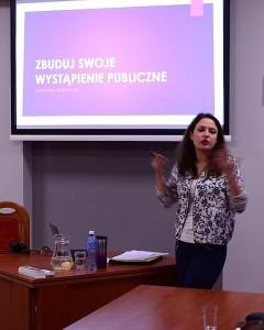 Akademia Liderów AZS Anna Butrym Wystąpienia publiczne i medialne Wrocław 2016